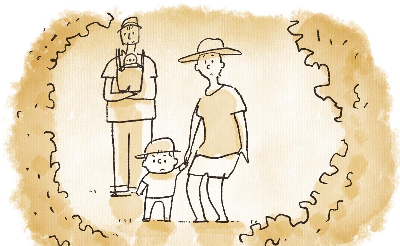 家族の時間の大切さを思い出させてくれる「トトロの道」