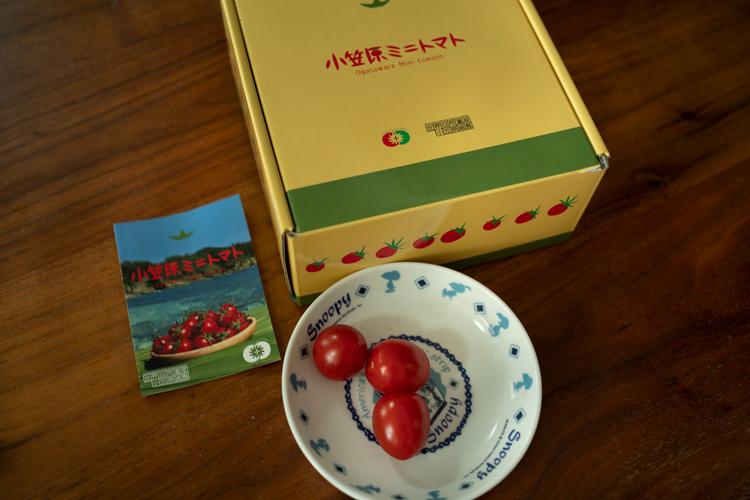 小笠原の母島の友達からの贈り物。甘みが濃くておいしい