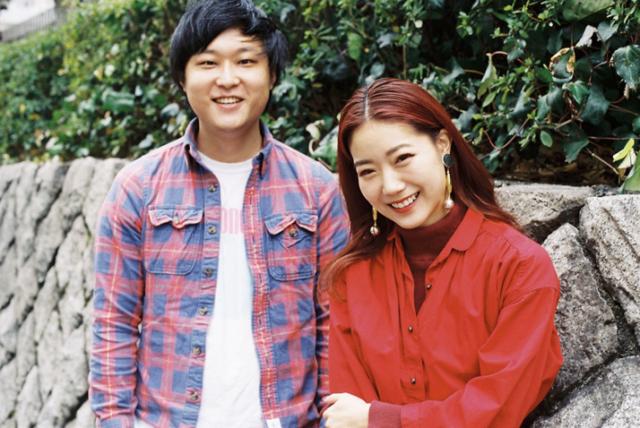 石井リナさんと長谷川リョーさん