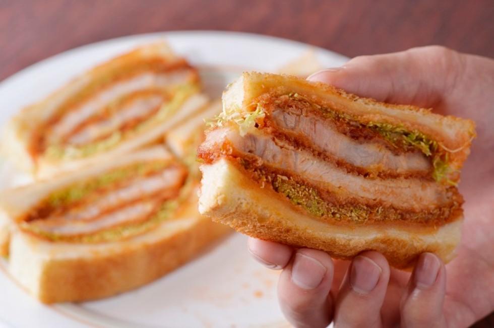 銀座ブラジルのサンドイッチ