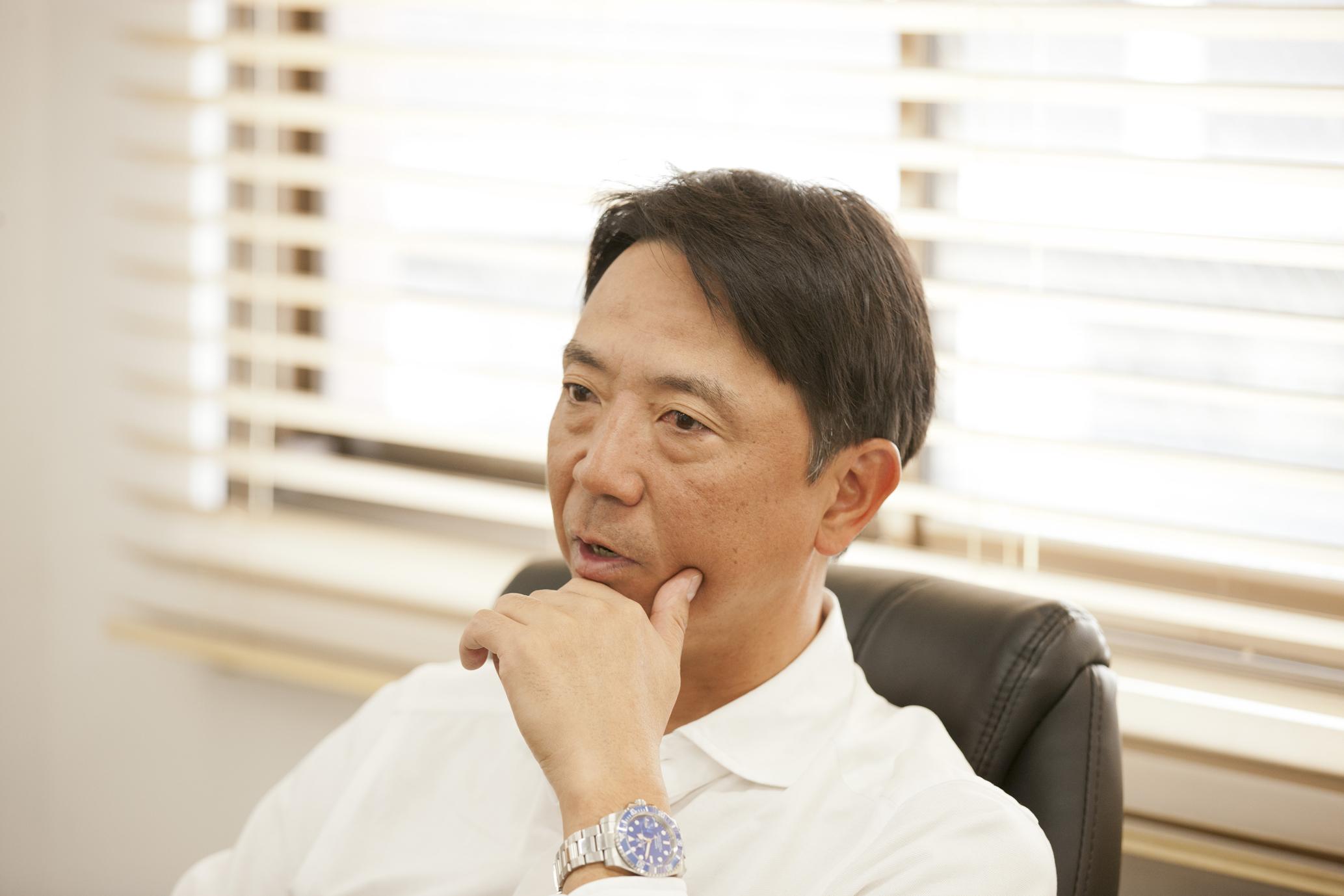 伊藤智仁さんインタビューカット