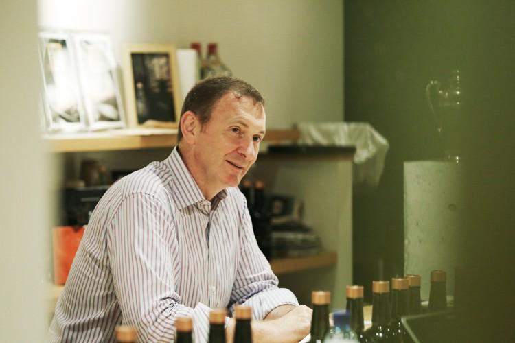 オーナーのデービッド・クロールさん(55歳)。京都はもともと大好きな街のひとつだったという