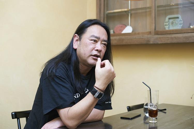 野口剛さんインタビュー写真