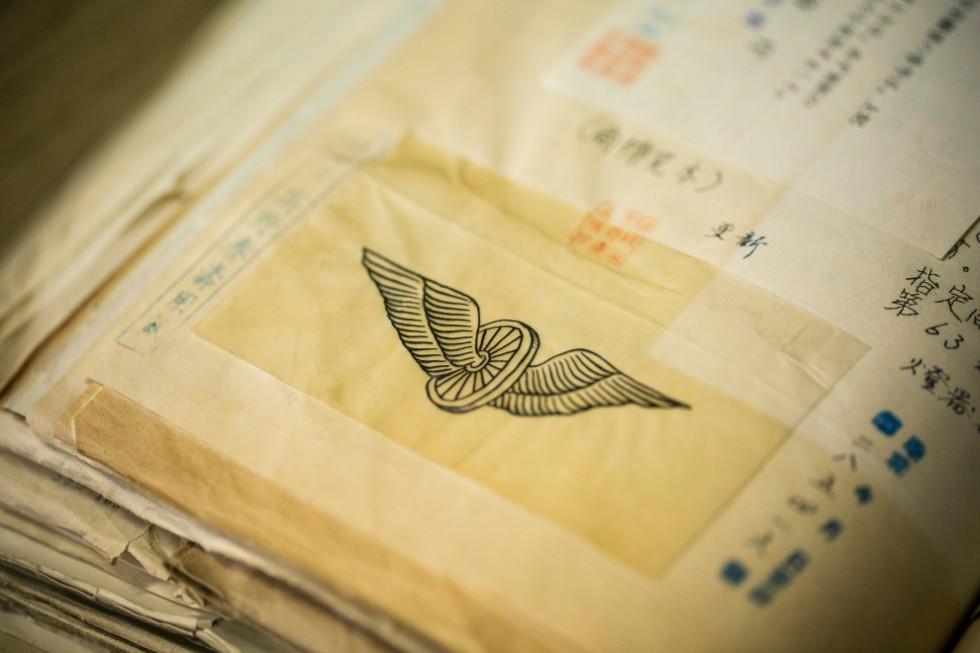 会社やランプのロゴに使っているイラストは、昭和初期には描かれていたそう