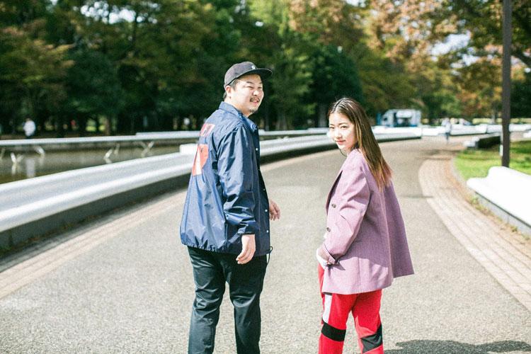 石井リナさんと平山潤さん
