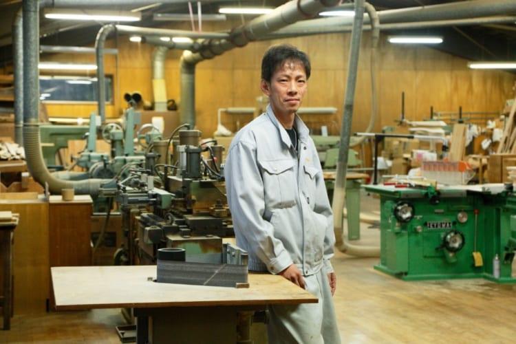 会津桐タンス株式会社の角田庄伸さん(40歳)