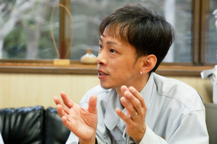 角田庄伸さん