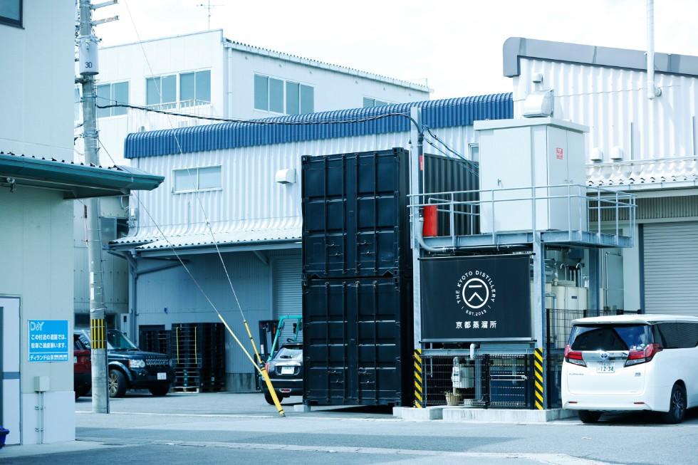 京都蒸溜所があるのは桂川にもほど近い、南区吉祥院。意外なほど、こぢんまりとした佇まい