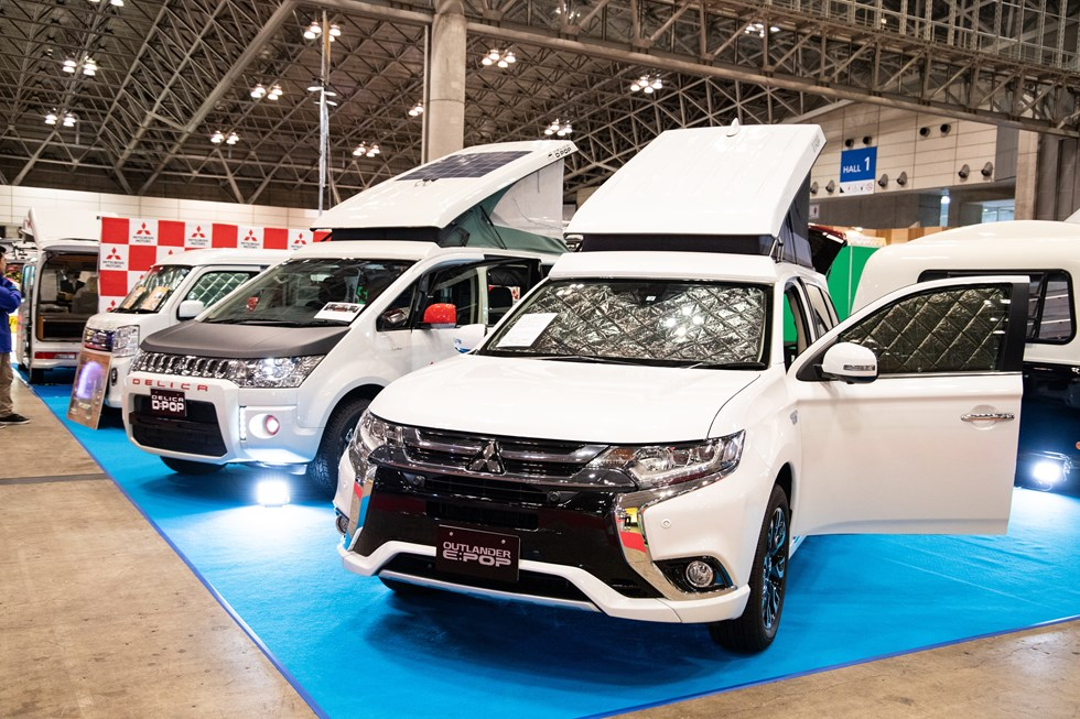 国内最大級の『ジャパンキャンピングカーショー2019』フォトレポート