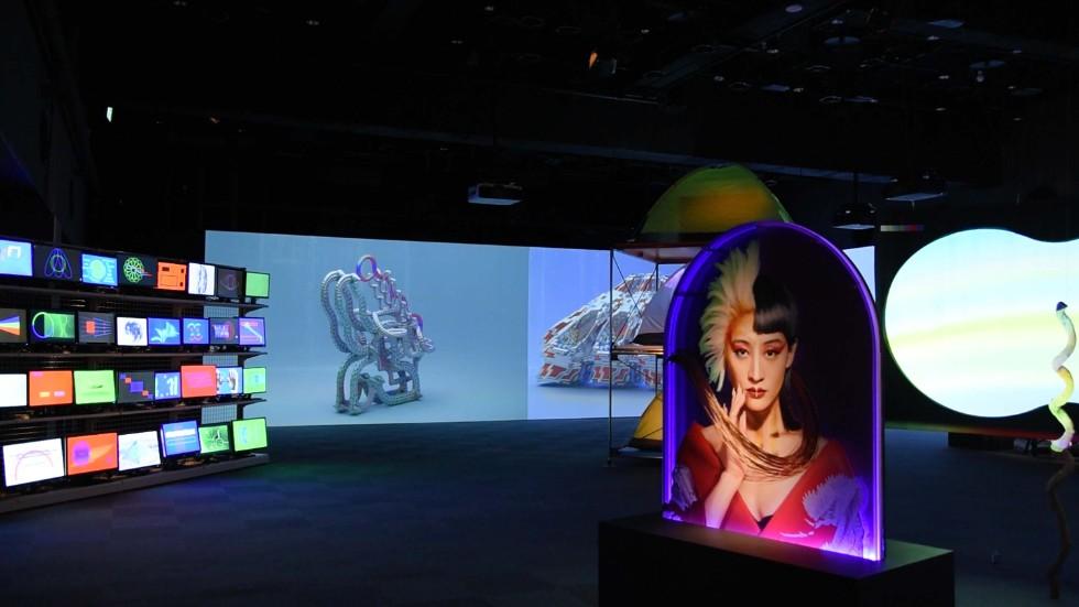 光の3原色をテーマとした「PHENOMENON: RGB」展(ラフォーレミュージアム原宿)
