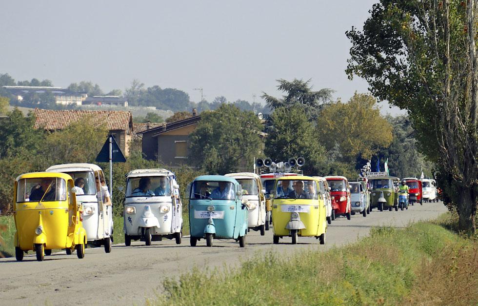 「憎めない奴」イタリア製3輪トラックが70周年、いまも活躍する働き者の歴史と今