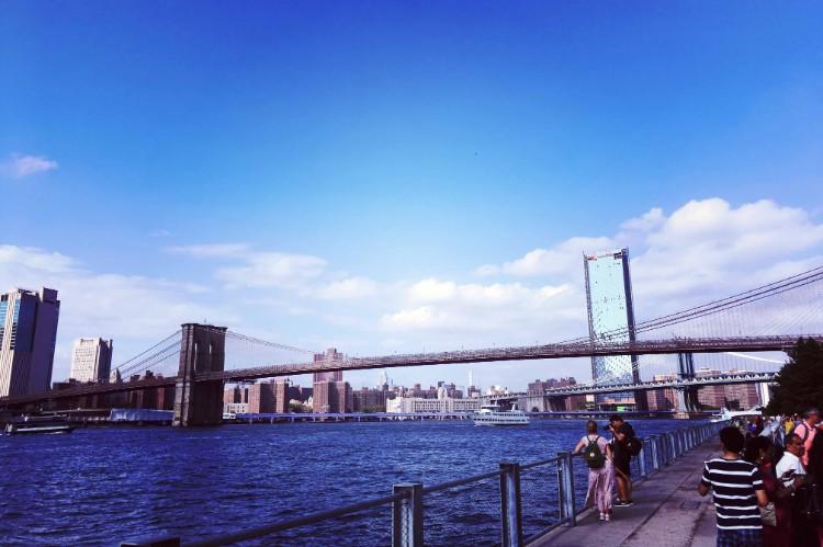 ブルックリン橋公園からの風景