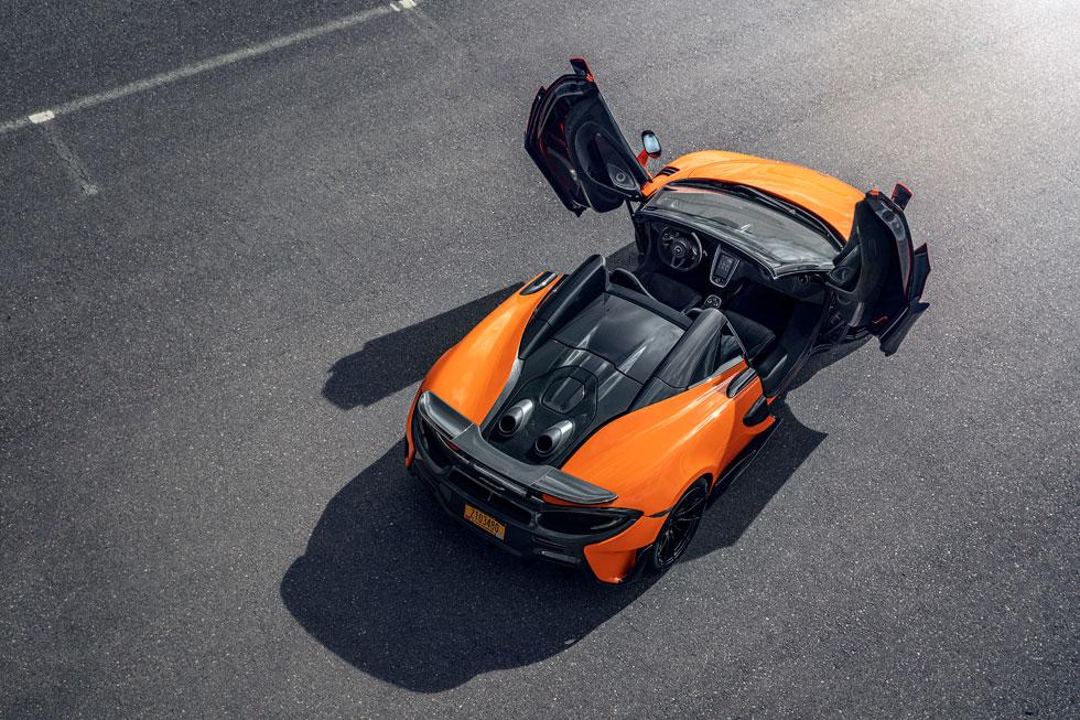 剛性の高いボディでスポーティかつ爽快な走り<br>マクラーレン720S・600LTスパイダー試乗記