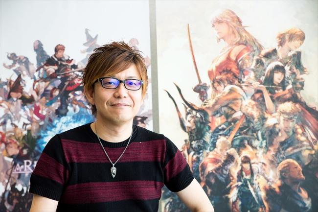 ファイナルファンタジー14のプロデューサー兼ディレクターの吉田直樹さん