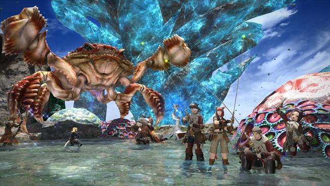 ファイナルファンタジー14のゲーム内画面