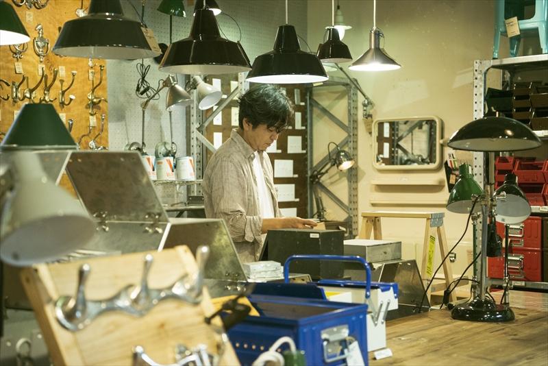 仕事の合間などは自然とDIYで手を動かしている徳田俊哉さん。「息子が大きくなったら一緒に楽しみたい」
