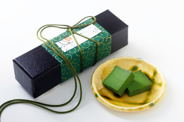 「御菓子 山中」のまっちゃちょこ濃い茶【改】