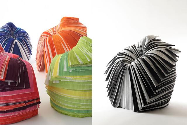 「cabbage chair」のカラーのバリエーション(写真:林雅之)