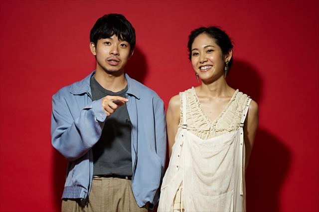 映画『海を駆ける』で共演した太賀さんと阿部純子さん