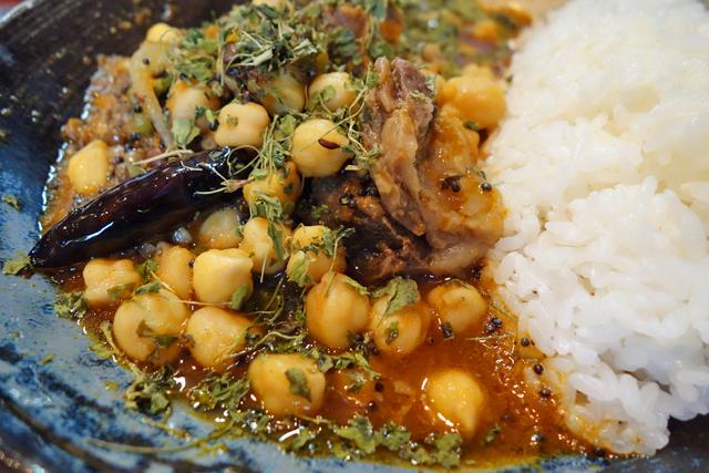 インド料理ではさまざまな豆が使われるが、独特の歯触りとヘルシーさが魅力