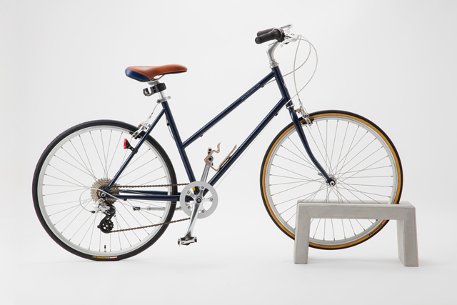 固定しなくても、しっかり自転車を支えてくれます