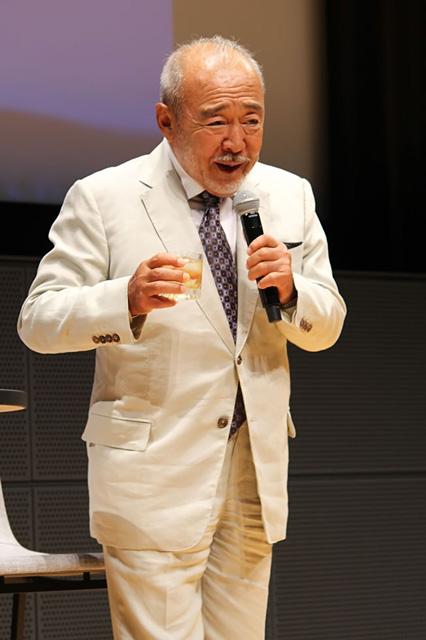 ユーモアとともに「物語の力」について語る北方謙三さん