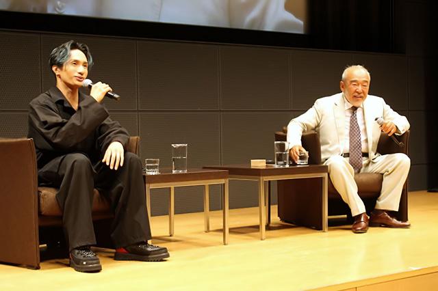 初対面ながら本好き同士、すぐに意気投合した北方謙三さんと橘ケンチさん