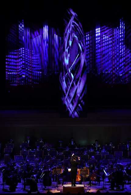 サンサーンスの「死の舞踏」の演奏=写真提供・日本フィルⒸ山口敦