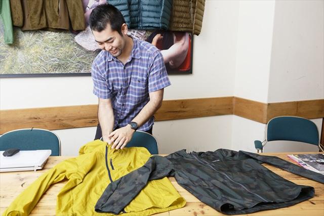 パタゴニア日本支社マーケティング部の大堀泰祐さん。ヒマラヤ登頂経験を持つ生粋の山男でもある