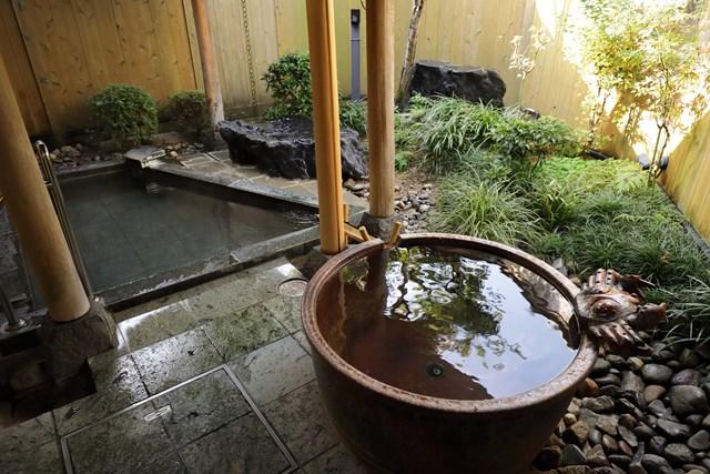 露天風呂付きの大浴場
