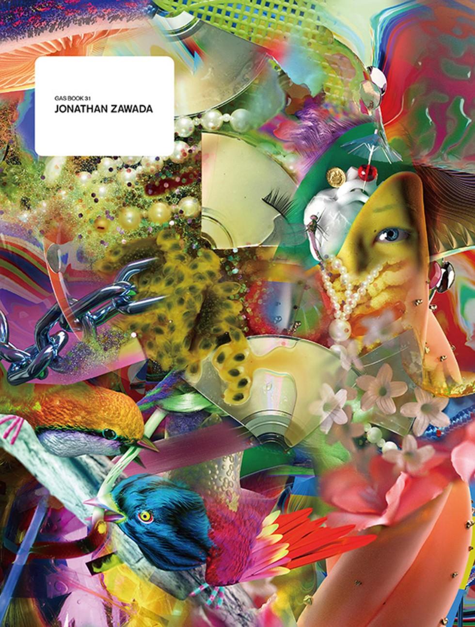 本展を記念して発売された「GASBOOK 31 JONATHAN ZAWADA」アートブック