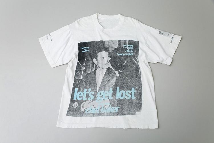 ブルース・ウェーバー氏の写真をプリントしたTシャツ