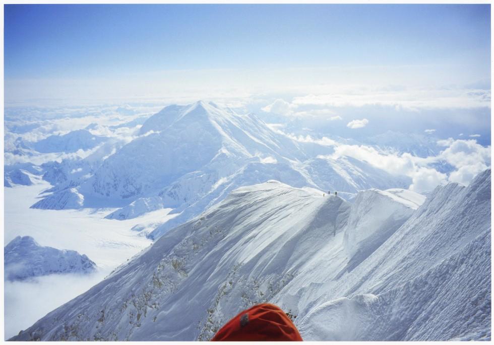20歳当時に登頂した北米最高峰「デナリ」での写真