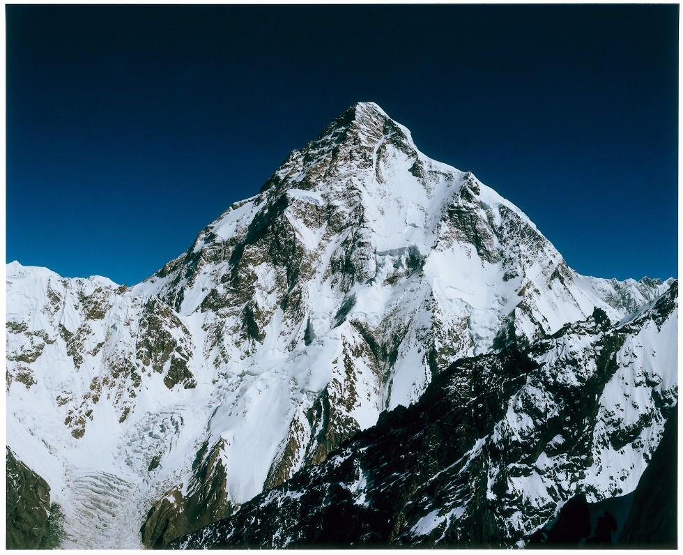 エベレストに次ぐ標高世界2位の山「K2」。標高は8611メートル