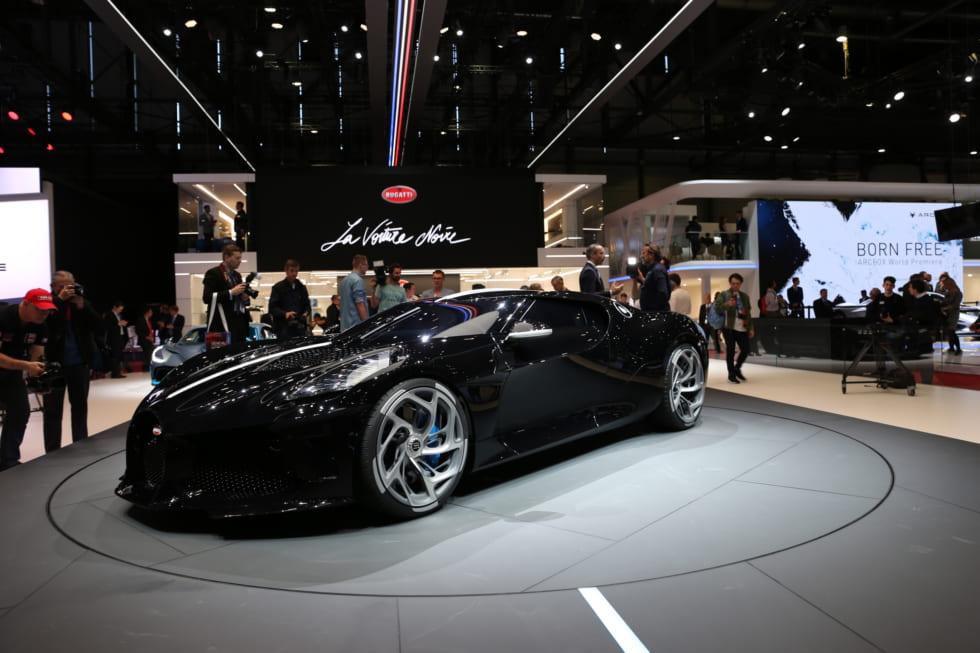スポーツカーでも顕著なEV化<br>ジュネーブ国際自動車ショー・フォトレポート