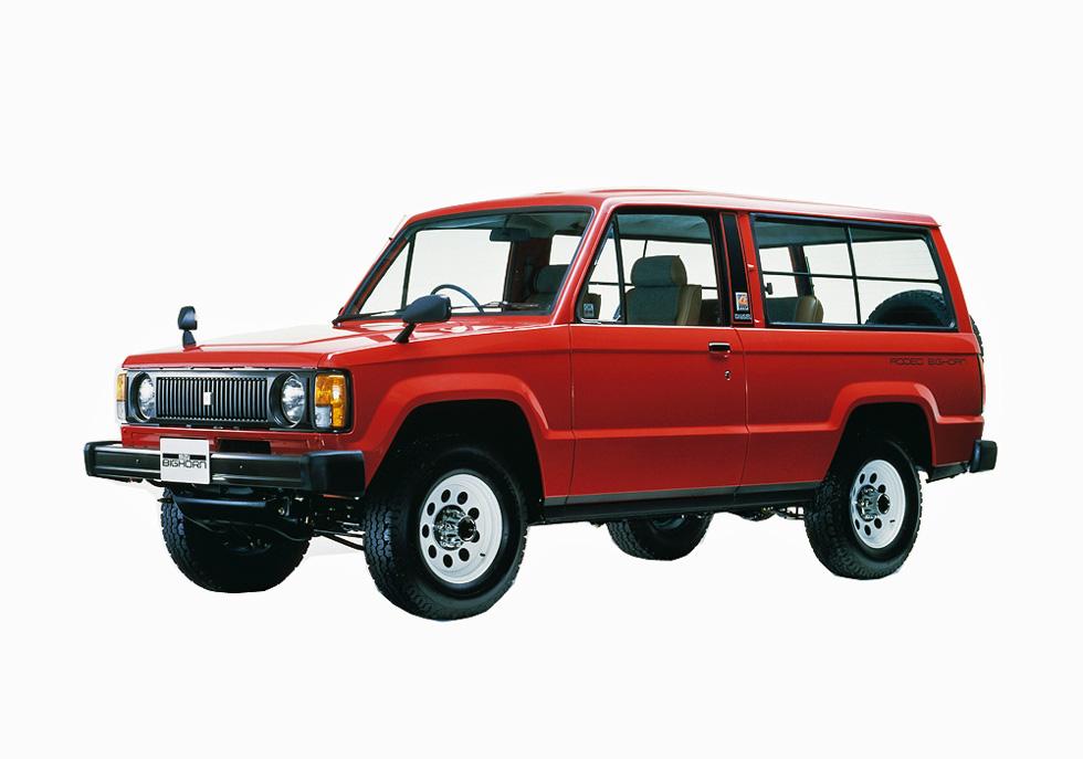 小川フミオのモーターカー いすゞ・ビッグホーン