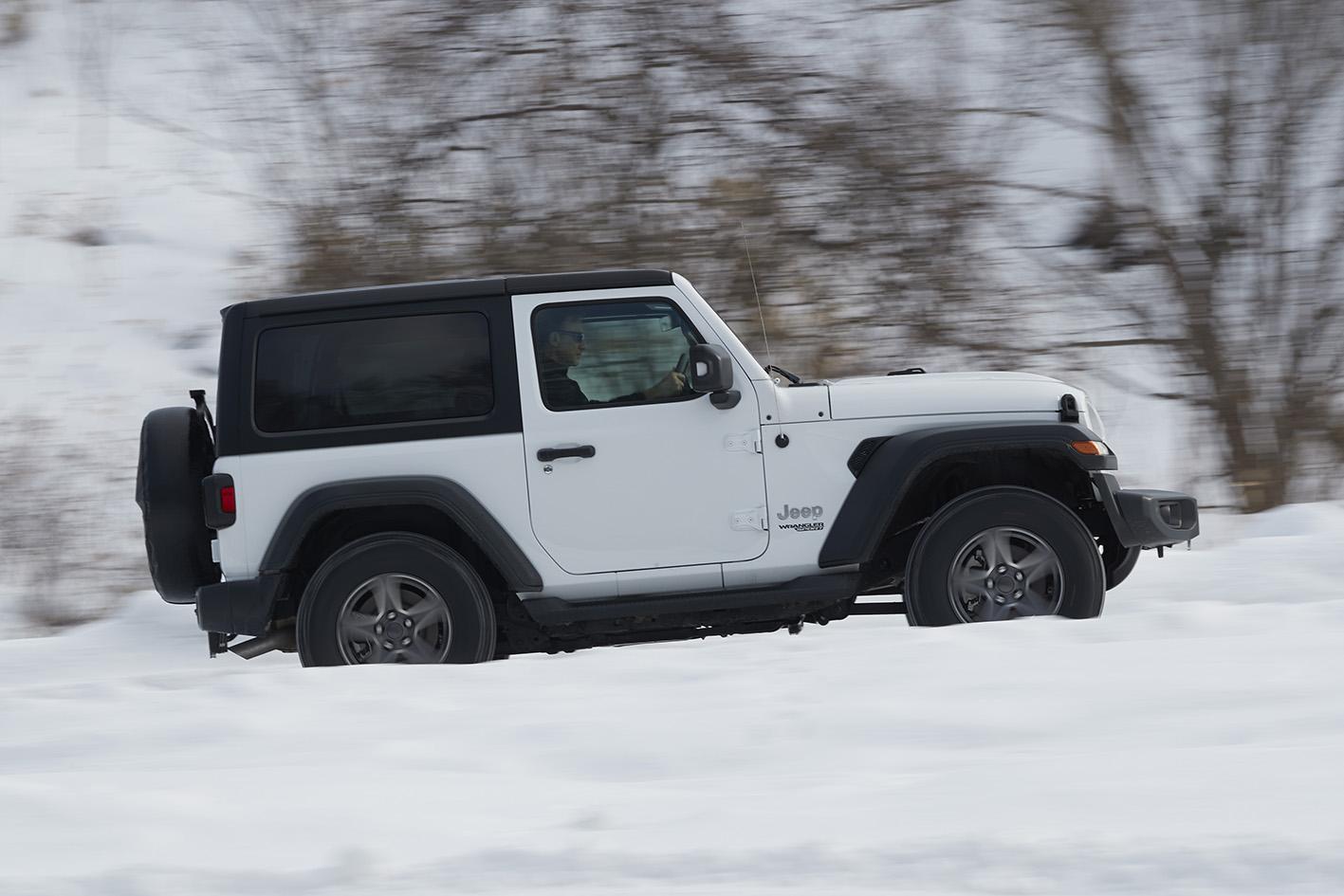 北海道の雪上で確かめたジープ・ラングラーの走り 試乗フォトギャラリー