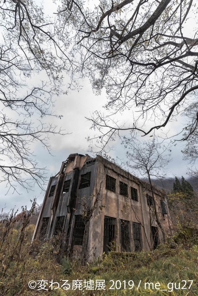 昔から古い工場が好きで、廃虚写真にのめり込んだ「me_gu27」さん。時が止まっても生き続けていることが廃虚の魅力/(C) 「変わる廃墟展 2019」me_gu27