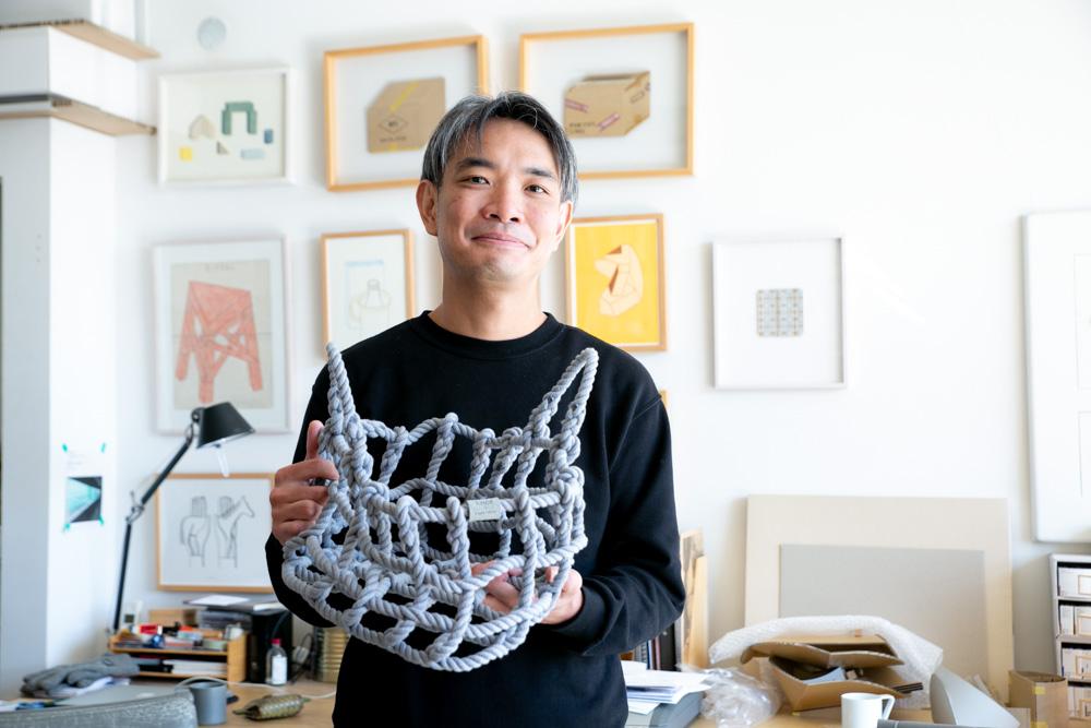 水代優さんとインテリア製品「knot」