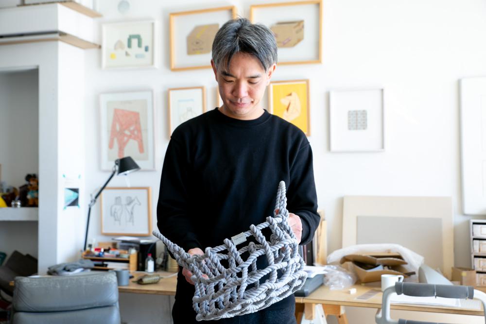 Shigeki Fujishiro製品の中で水代さんの一番のお気に入りは「knot」