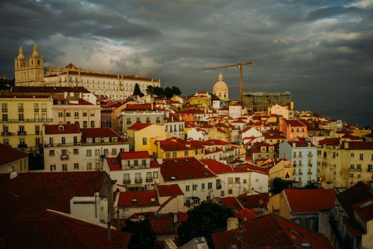 リスボンの丘