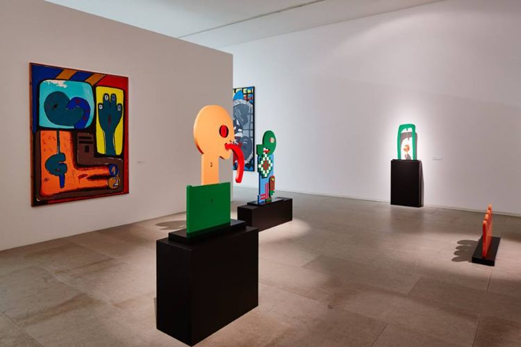 常設展では詩人・谷川俊太郎氏とコラボレーションしたこともある画家ジョゼ・デ・ギマランイス(ギマランイスのジョゼという意味)の展示が。この美術館はジョゼ氏を記念して造られたものだとか / All Right Reserved.