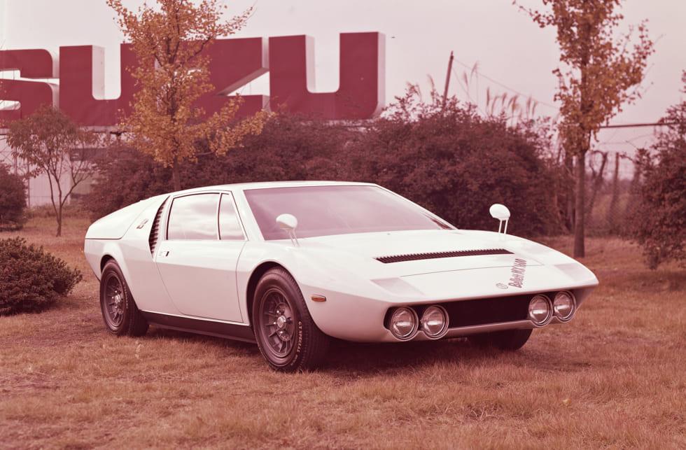 クルマ好きが胸を高鳴らせた幻のコンセプトカー いすゞ・ベレット1600MX