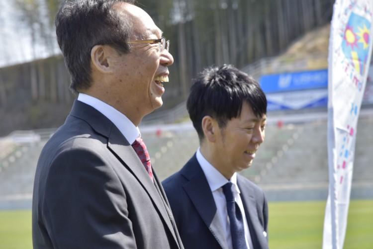 岡田武史さんと佐藤可士和さん