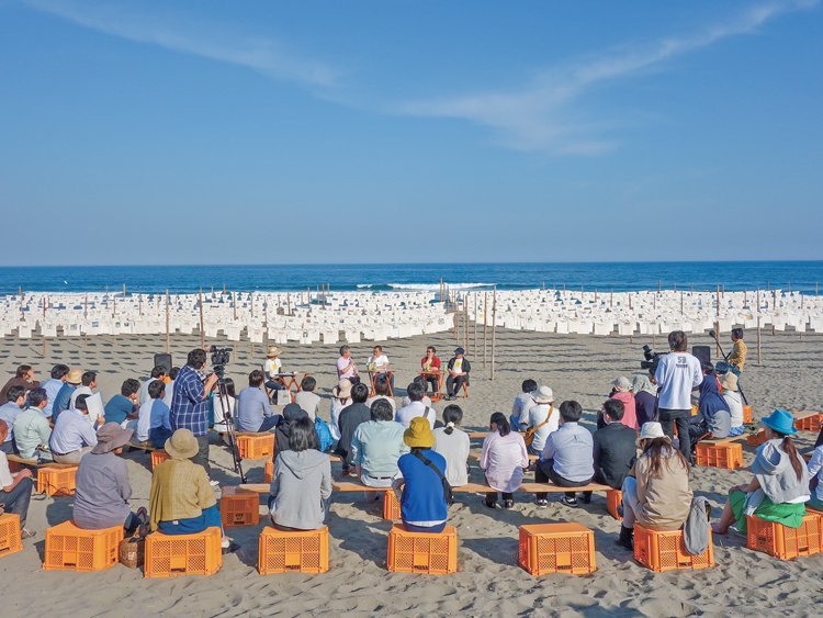 (C)砂浜美術館