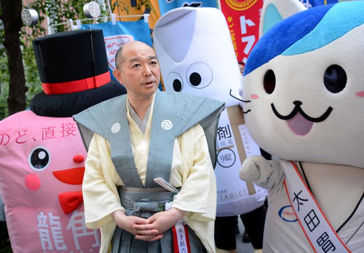 龍角散の社長でもある藤井隆太さん
