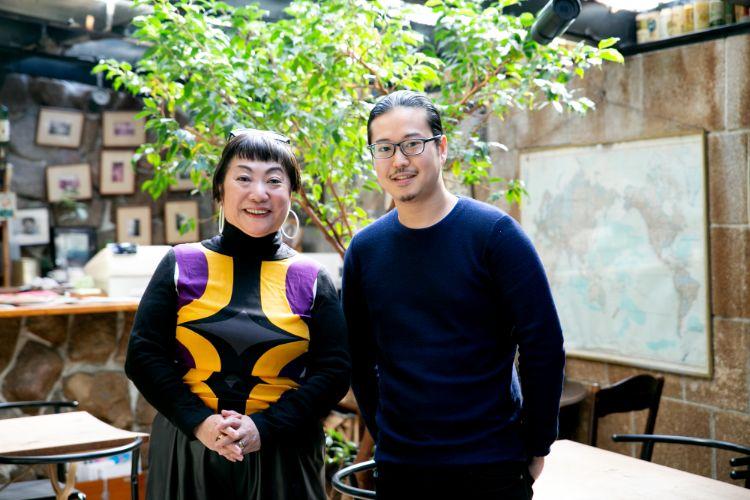 湯山玲子さんと反田恭平さん