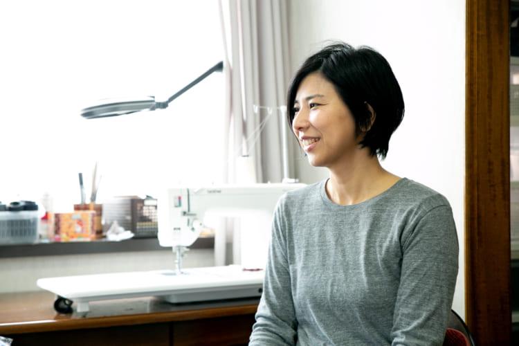 い草を使った雑貨の企画からデザイン、製造、販売まで行う松葉畳店の伊藤知美さん