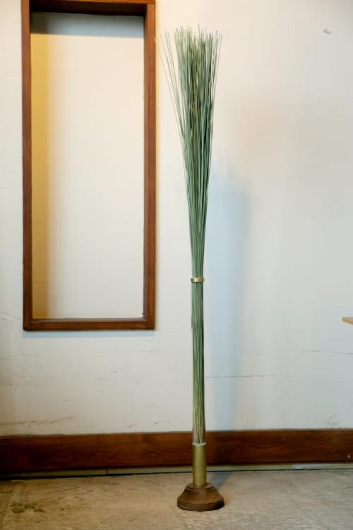 い草を使ったオブジェTATTE