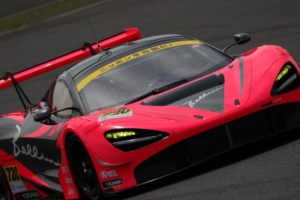 No.720 McLaren 720S(荒 聖治/アレックス・パロウ)